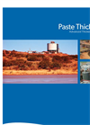 Paste Thickeners Brochure