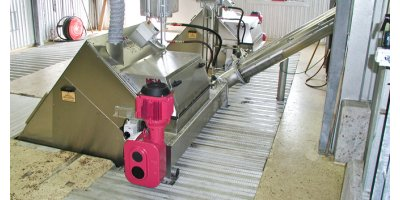 WesTech CleanWash™ - Model SWP/CPS - Screw Wash Press and Counter Pressure Screw
