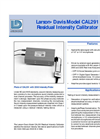 Model CAL291 - Precision Acoustic Calibrator Brochure
