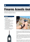 SoundTrack LxT Model LXT1-QPR Firearms Acoustic Analysis Brochure