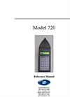 Model 720 - Sound Level Meter Operation Manual