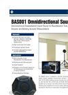 Model BAS001 Omnidirectional Sound Source Brochure