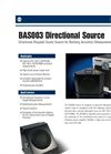 Model BAS003 Directional Sound Source Brochure