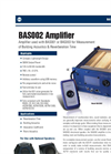 Model BAS002 Amplifier Brochure
