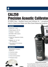 Model CAL250 - Precision Acoustic Calibrator Brochure