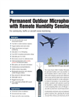 Permanent Outdoor Microphone & Preamplifier Data Sheet (PDF 908 KB)