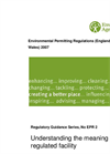 Environmental Permitting Regulations- Brochure