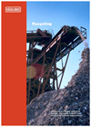 Recycling - Reliable drives for high productivity
