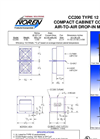 Drop-In - CC200 - Compact Cabinet Coolers Brochure