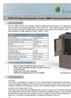 Model ECT10800 - Internal Evaporative Cooler Brochure