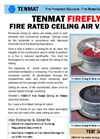Firefly Fire Rated Ceiling Valve – Brochure