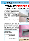 Vent Duct Fire Sleeves – Brochure