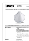 uvex silv-Air - Model c 2100 - Preformed Mask Brochure