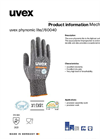 uvex - Phynomic Lite Safety Glove Brochure