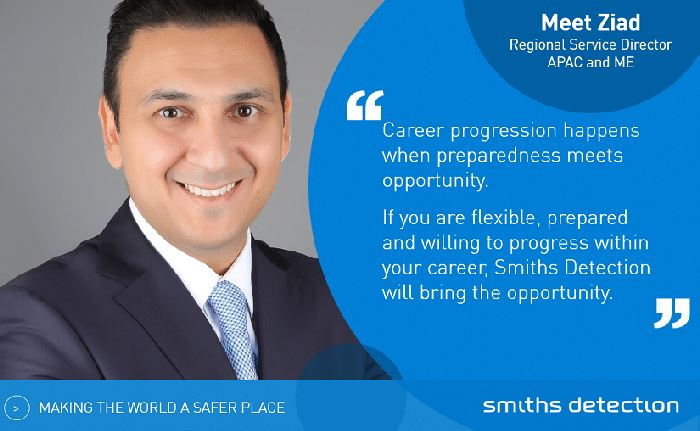 Finding the right career path at Smiths Detection