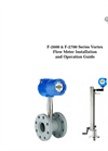 F-2600 & F-2700 Vortex Flow Meter Manual