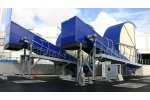 Moving-Base Mat Conveyor for Transferring Waste