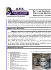 Reverse Osmosis (RO) Preventive Maintenance Services Brochure