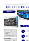 HB 70 Shredder  Brochure