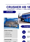 HB 186 Shredder DM Brochure