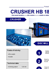 HB 186 SM Shredder Brochure