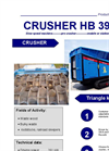 HB 396 DM Shredder Brochure
