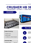 HB 396 SM Shredder Brochure