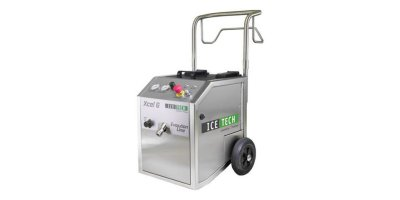 IceTech - Model XCEL 6 - Duty Dry Ice Blasting Machine