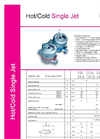 Hot Water Single Jet - Brochure