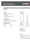 Wireless Pulse Transmitter - Technical Datasheet