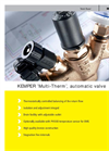 Kemper - Model MULTI-THERM - Regulating Valves - Brochure