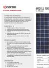 Model KU265-6MCA - Photovoltaic Modules Systems Brochure
