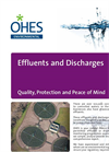 Effluents & Discharges Monitoring Services - Brochure