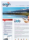 iJob - Mobile Audit & Analysis - Brochure
