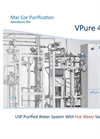 VPure - 4400H - USP Purified Water System With Hot Water Sanitization Brochure