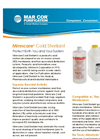 Minncare - Cold Sterilant for Use on Reverse Osmosis (RO) Membranes Datasheet