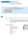 Model GS 1.1 - Gas Alarm Unit Brochure