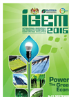 International Greentech & Eco Products Exhibition & Conference Malaysia (IGEM) - 2015 - Show Brochure