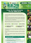 International Greentech & Eco Products Exhibition & Conference Malaysia (IGEM) - 2015 - Show Preview