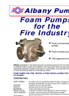 Foam Pumps for the Fire Industry