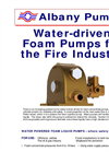Water Driven Pumps for the Fire Industry