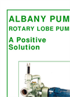 Albany - Lobe Pump - Brochure