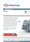 Albany - Model GB - Heated and Unheated Pumps Brochure