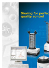 Sieve Shakers Brochure (PDF 2.842 MB)