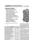 AquFlow HydroDrive - AC Variable Frequency Drive Brochure
