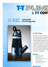 T-T - TT505C - Submersible Pump Datasheet