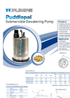 Puddlepal - Submersible Dewatering Pump Brochure