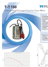 Model T-T100 - Submersible Drainage Pumps Brochure