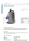 Model DR - Steel Submersible Pump Brochure