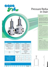 Threaded Pressure Reducing Valves Brochure
